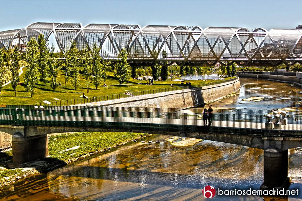 puente madrid rio