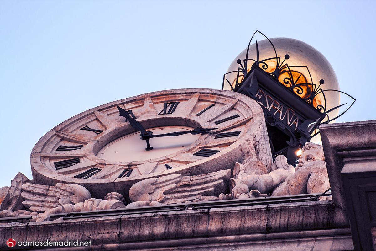 reloj bola de oro banco de españa