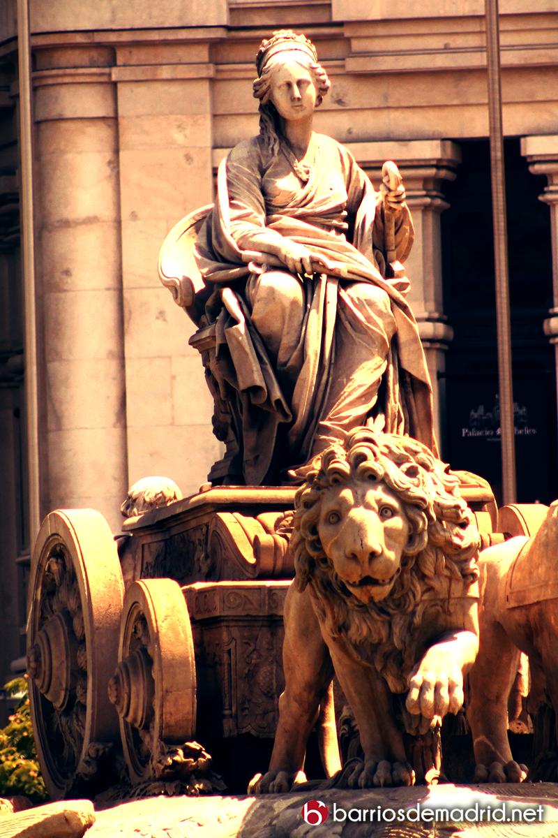 cibeles diosa madrid