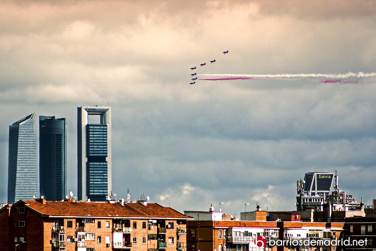 desfile aereo fuerzas armadas madrid