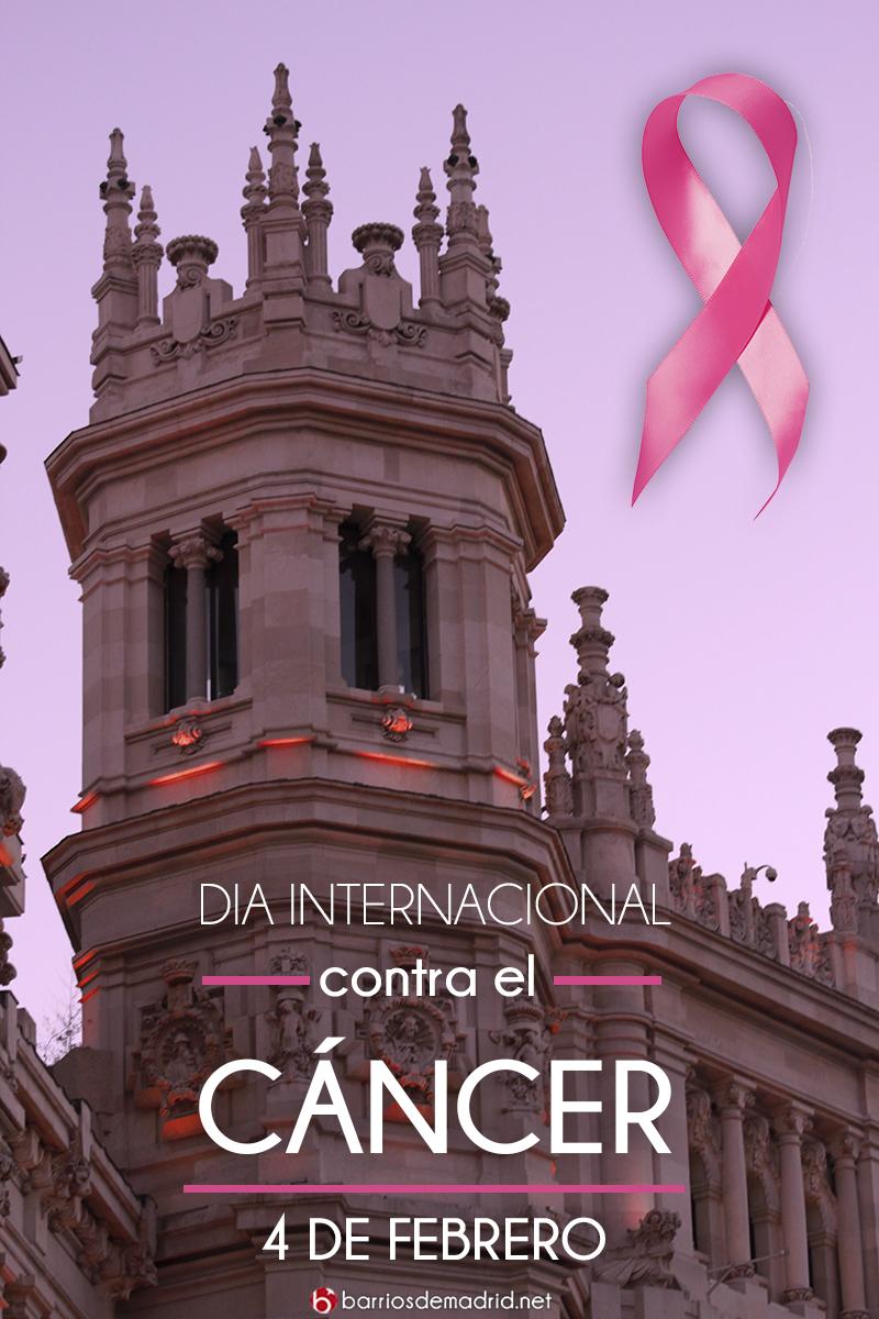 dia internacional contra el cancer lazo