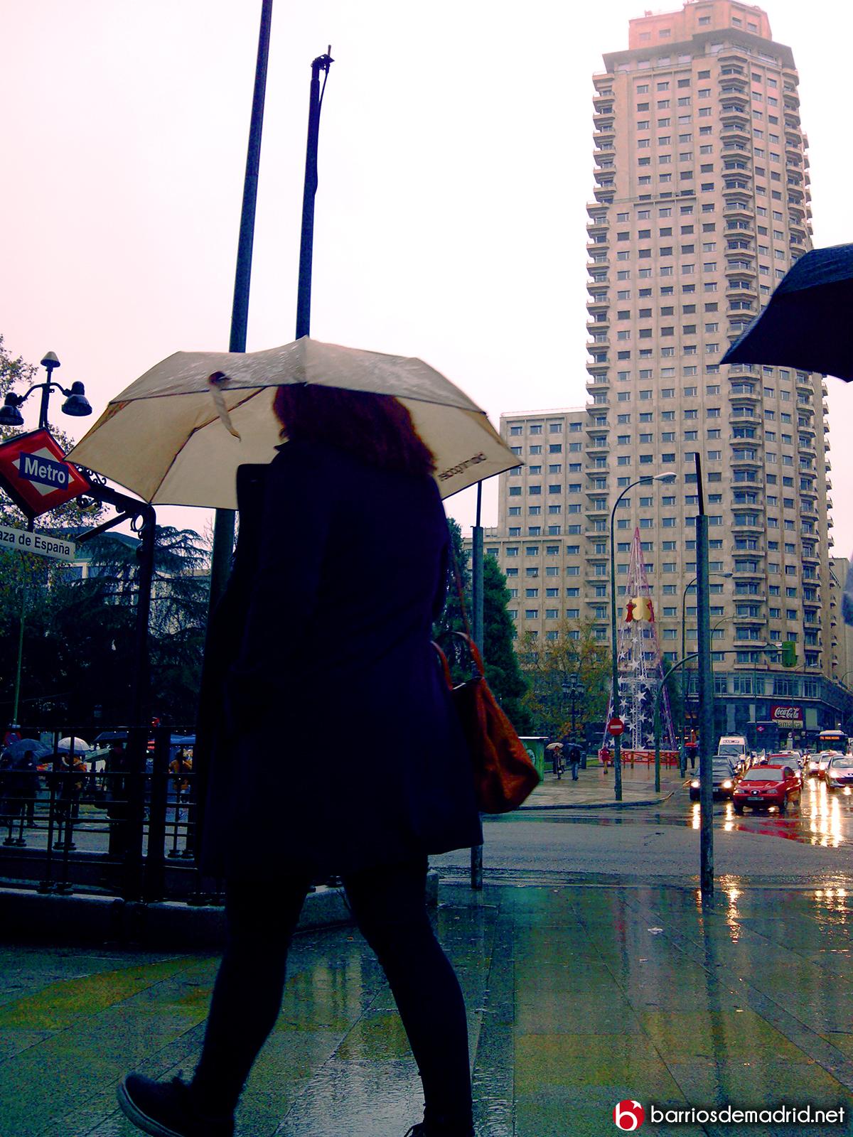 lluvia madrid