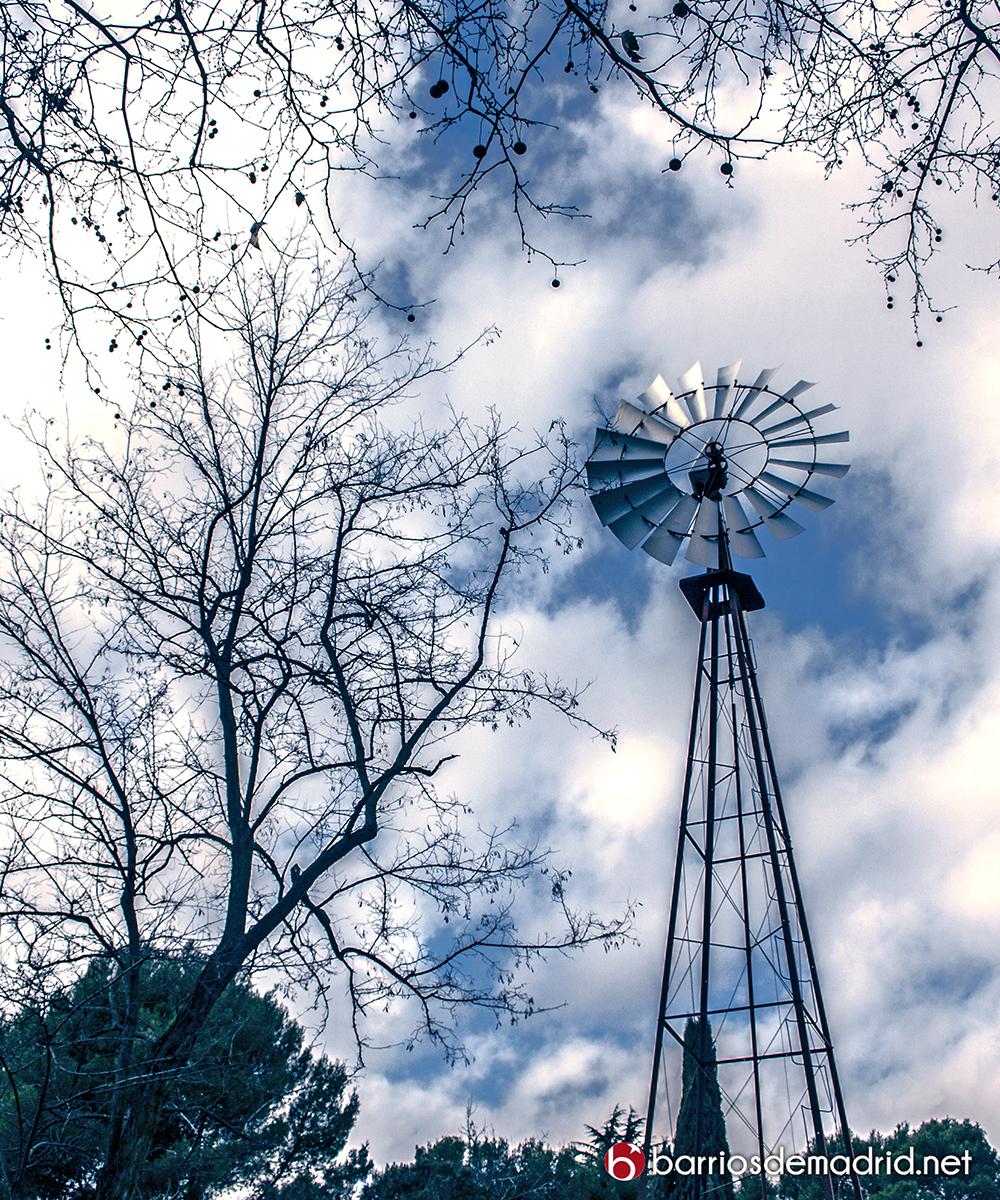 molino viento quinta molinos madrid