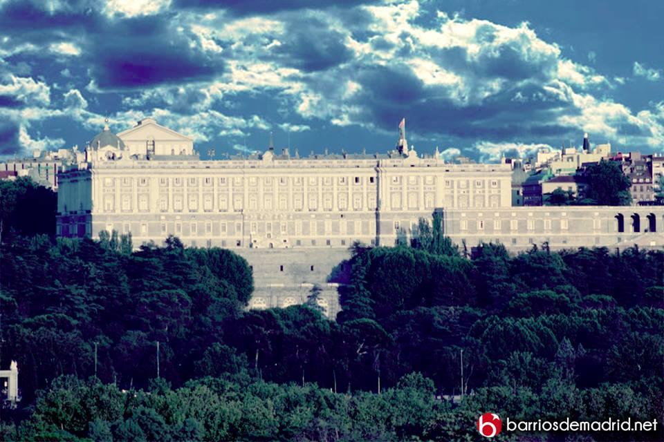 palacio real de madrid teleferico