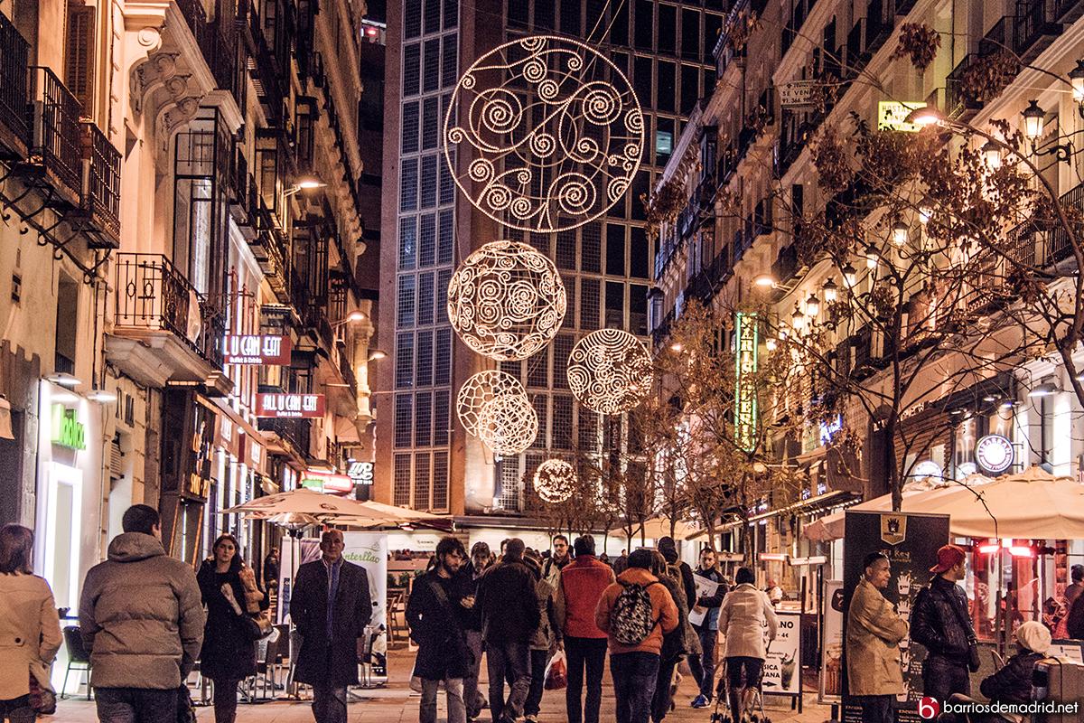 luces de navidad preciados madrid