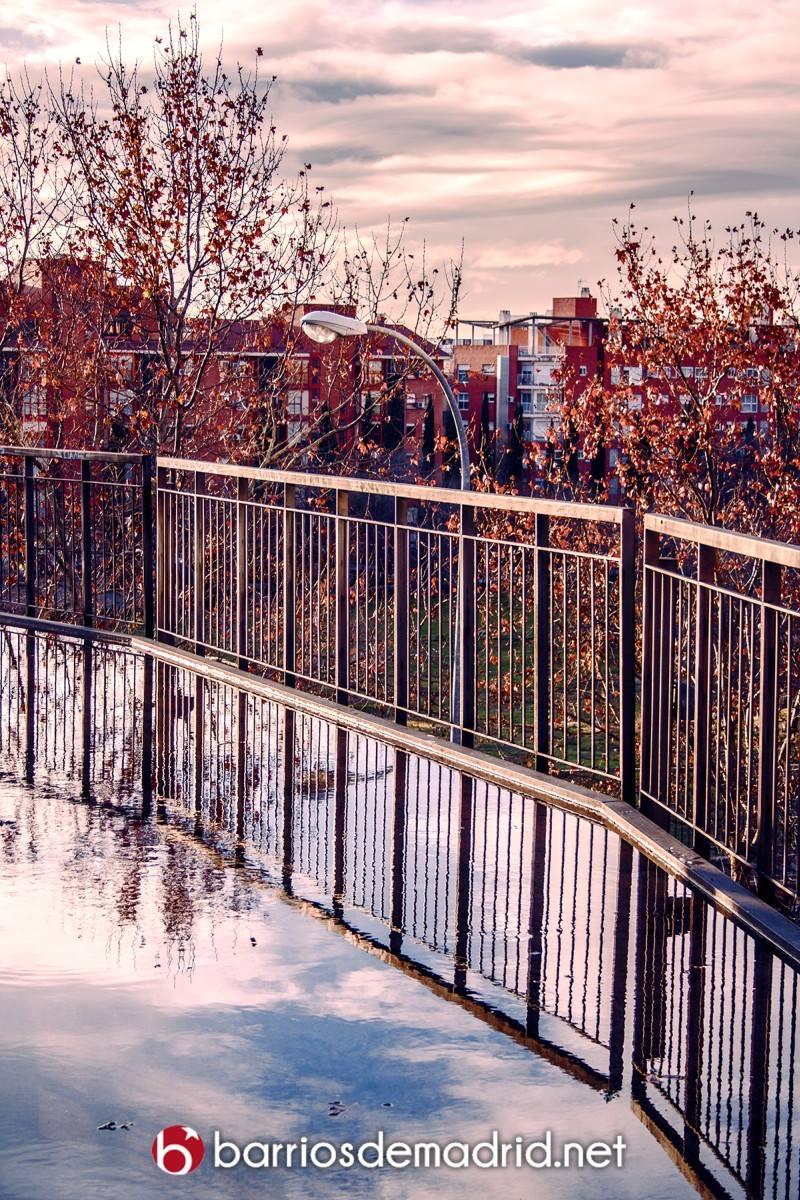 lluvia madrid parque