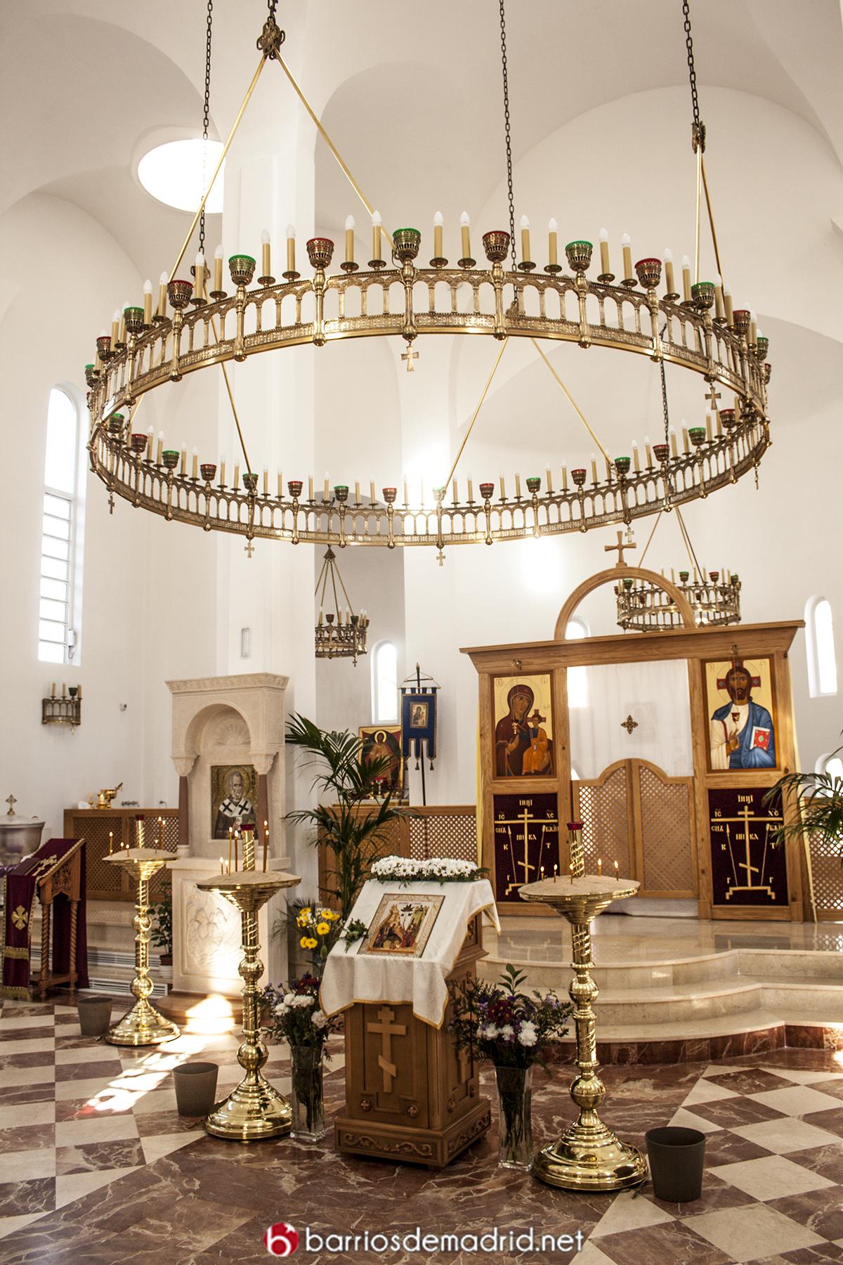 iglesia ortodoxa interior
