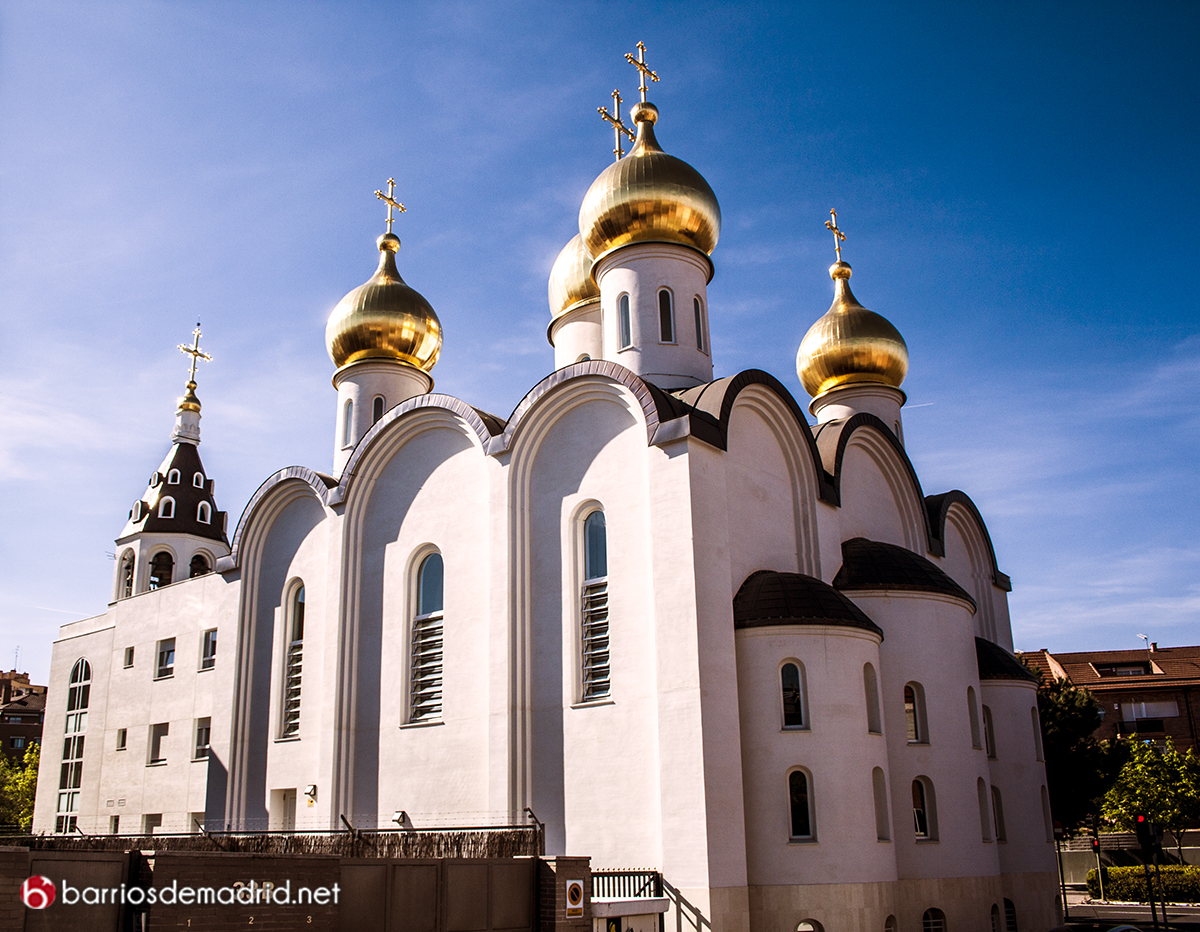 iglesia rusa madrid