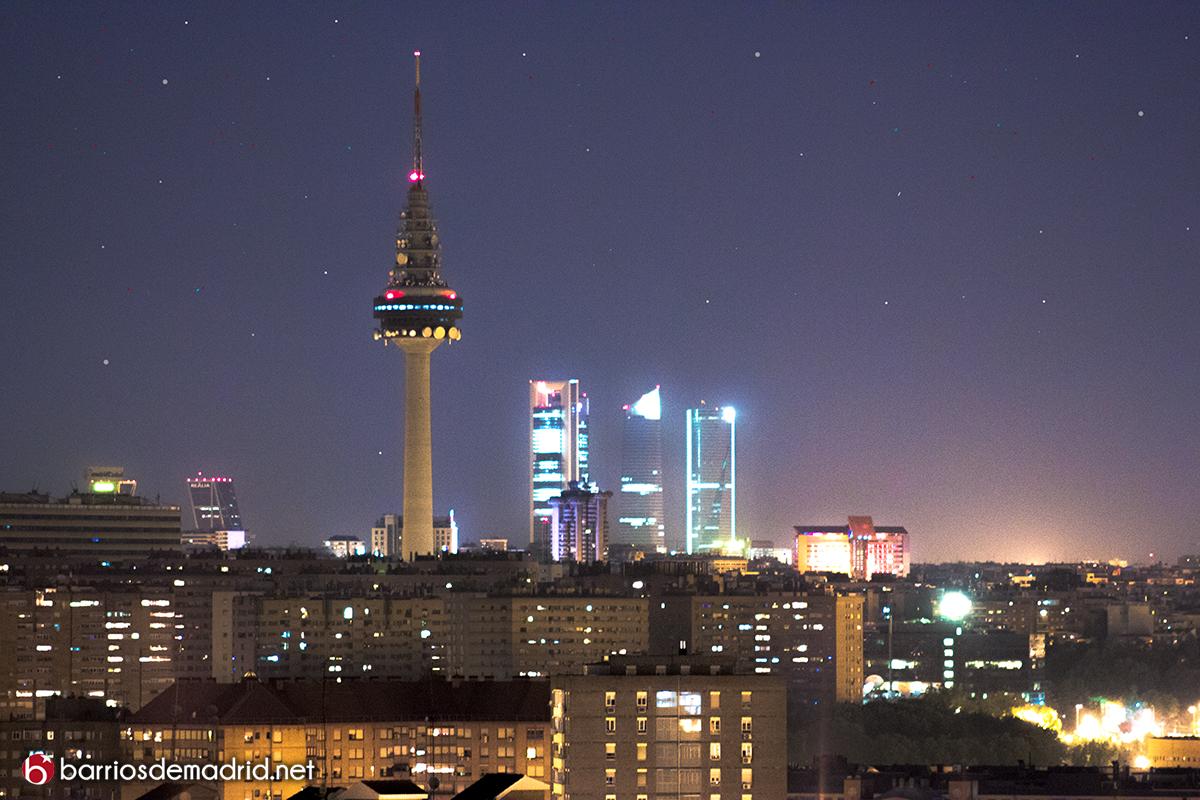 las mejores vistas de madrid de noche