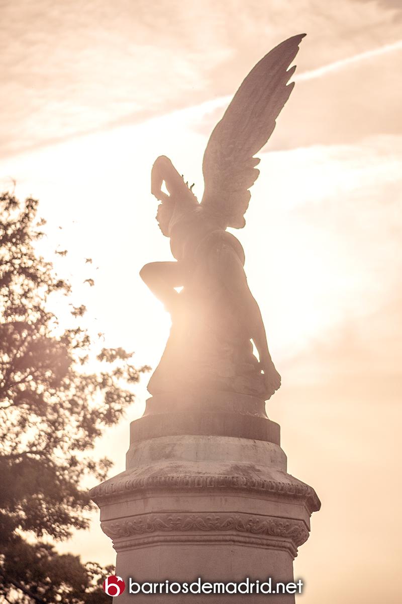 angel caido retiro