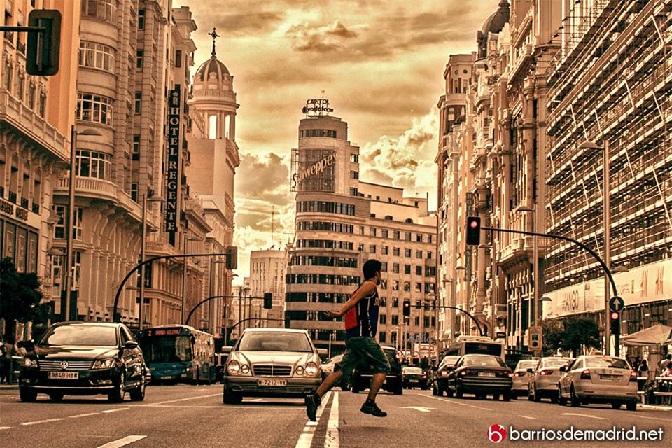 gran via coches