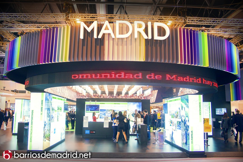 madrid fitur stand comunidad de madrid