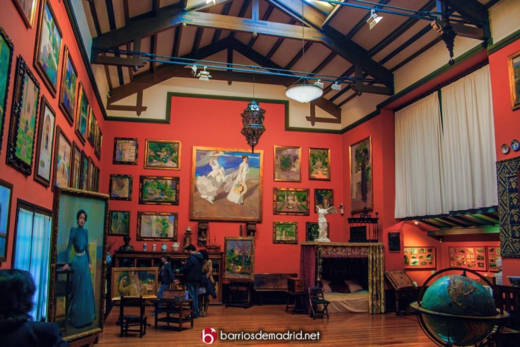 museo sorolla estudio casa