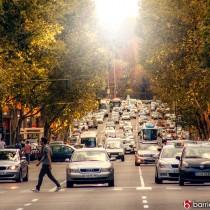 calle velazquez de madrid trafico