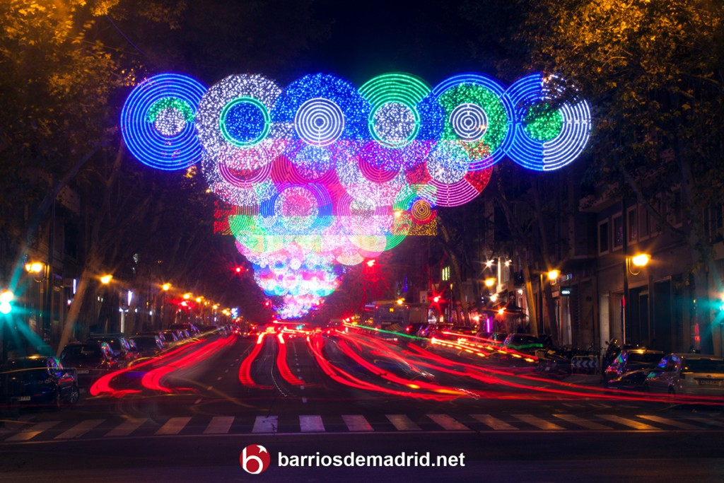 navidad madrid calle velazquez luces 2015