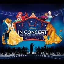 cartel de disney en concierto