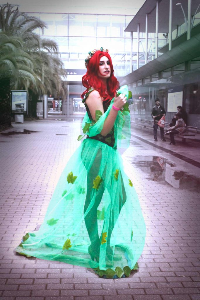 `cosdplay de poison ivy