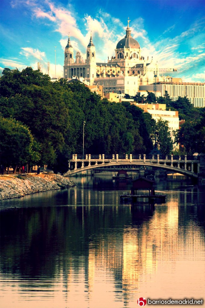catedral de la alumdena informacion rio manzanares