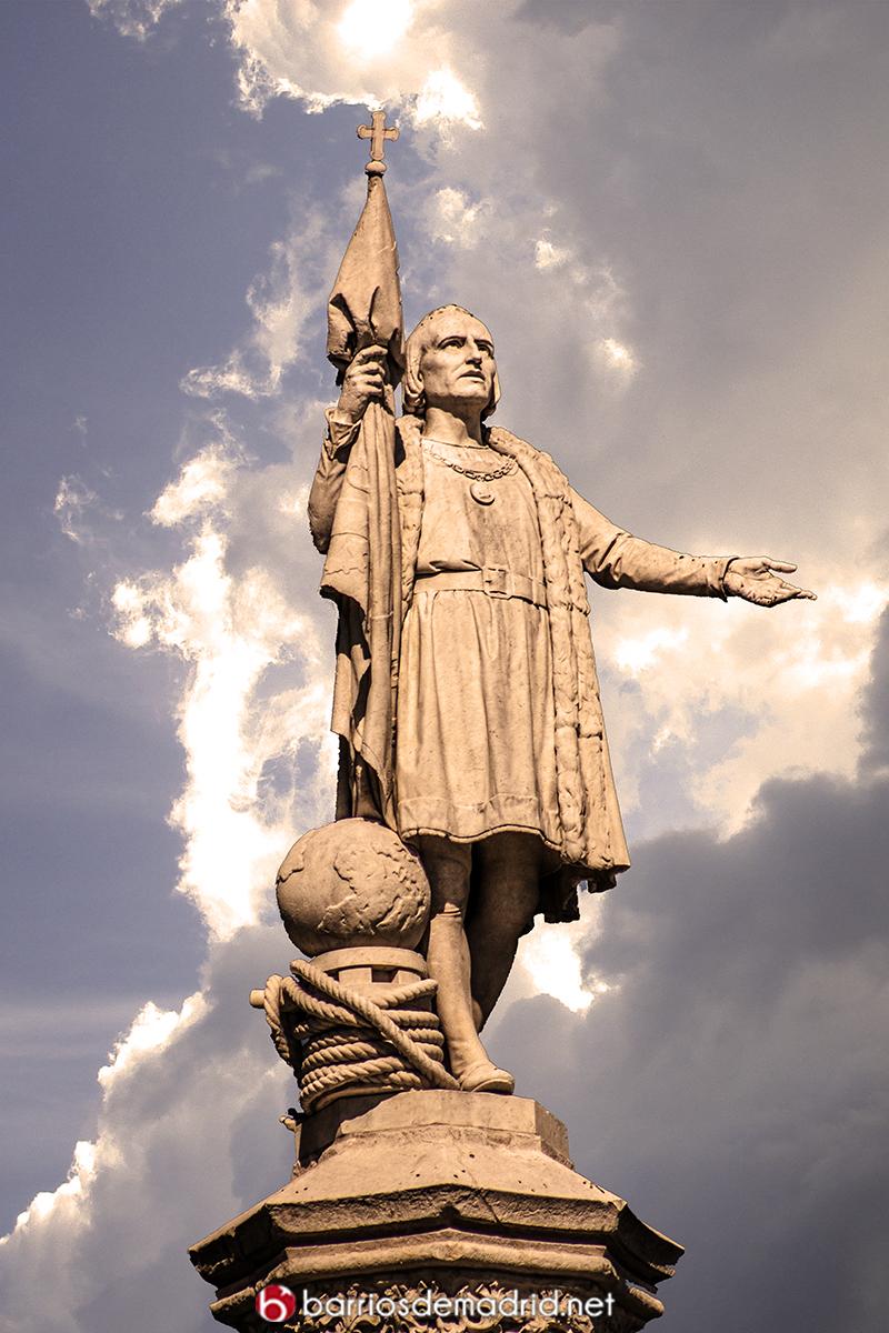 colon escultura madrid