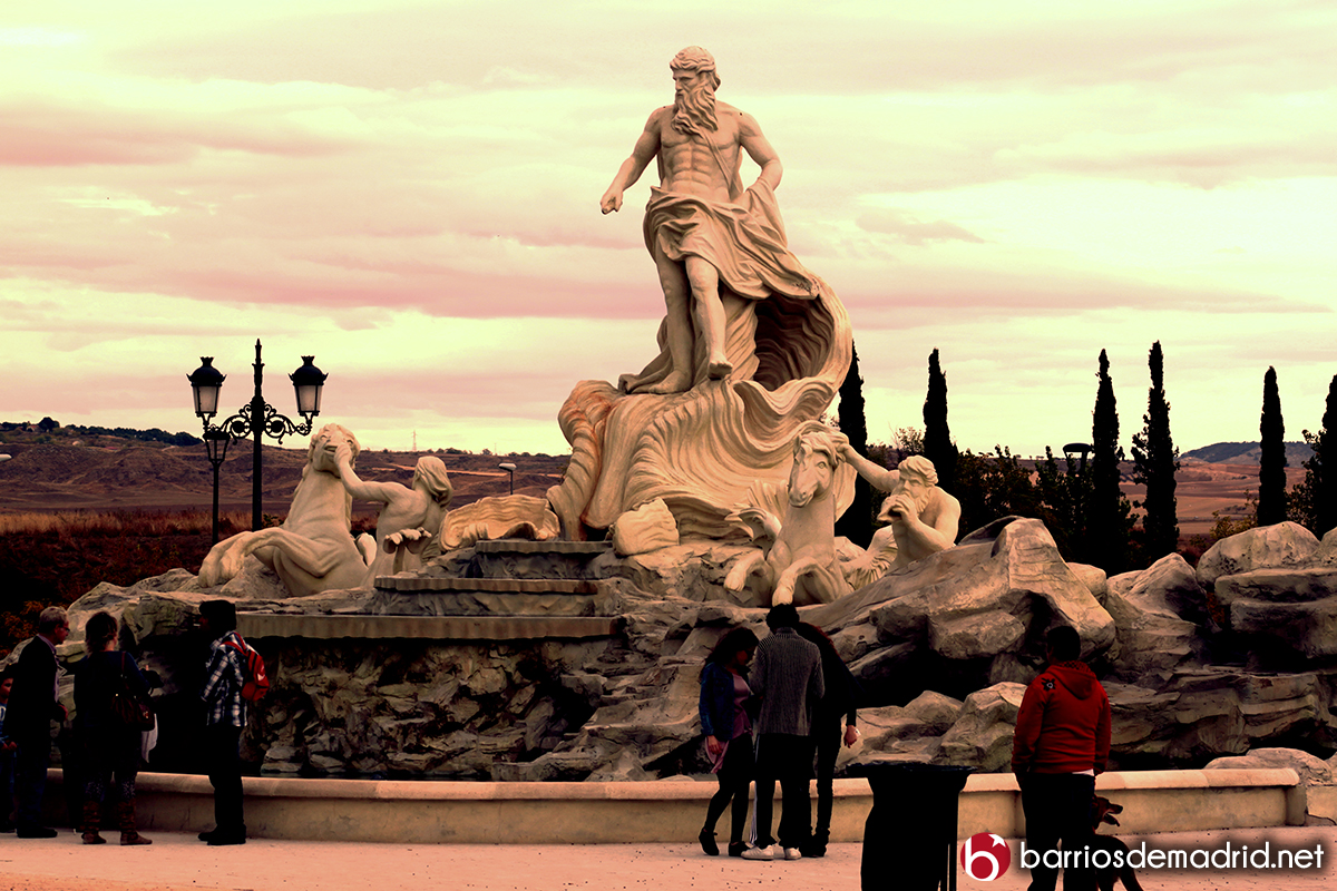 fontana de trevi madrid