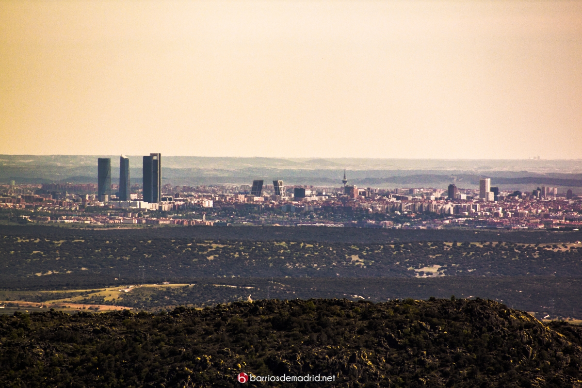 madrid vista aerea