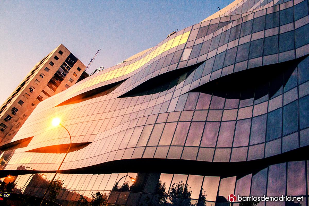 paseo de la castellana 200 arquitectura centro comercial