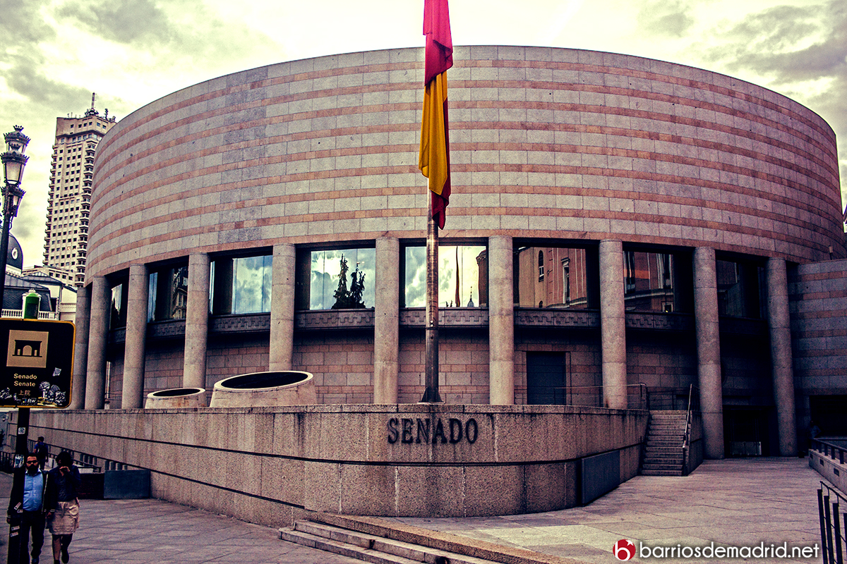 senado madrid edificio