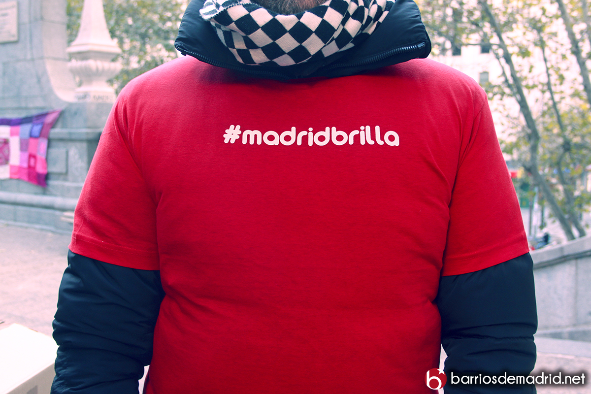 madrid brilla camiseta