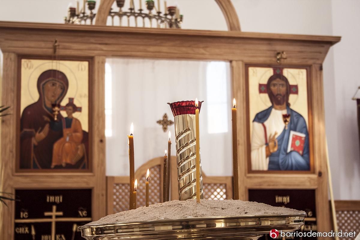 iglesia rusa madrid interior