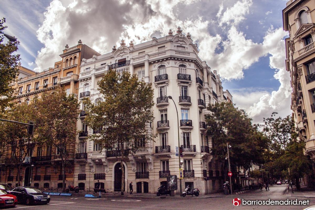 barrios salamanca arquitectura edificios