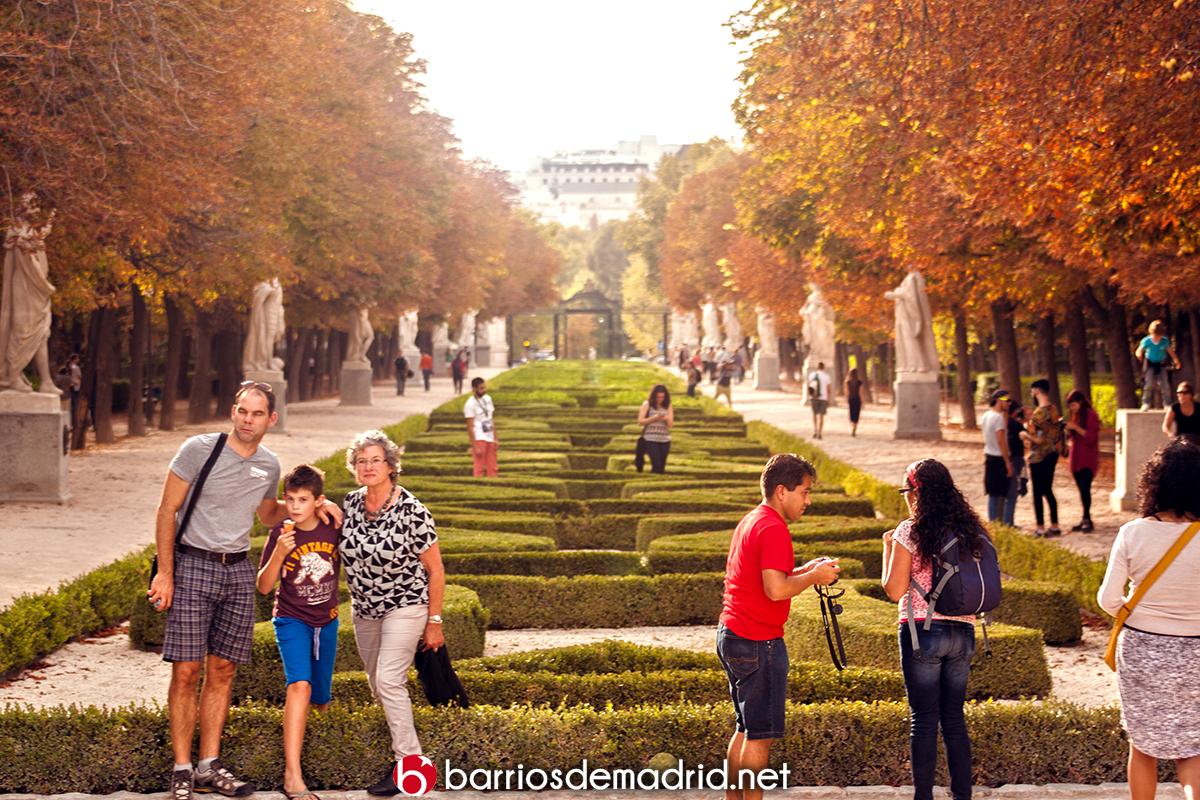jardines retiro turista