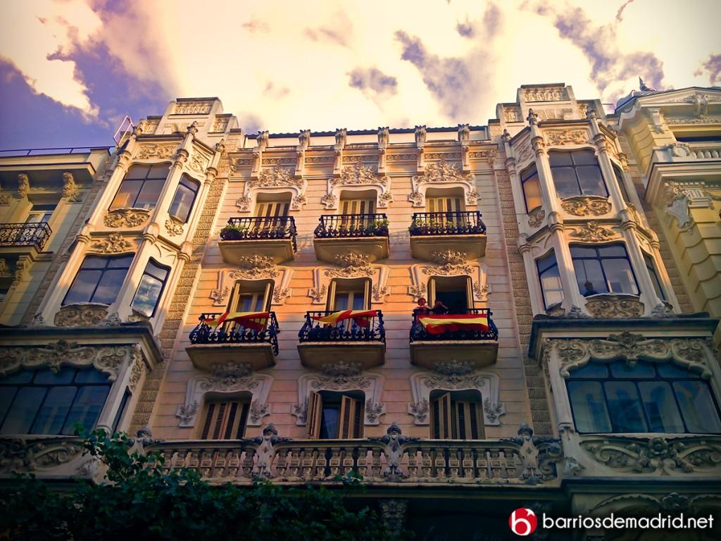calle mayor arquitectura modernismo