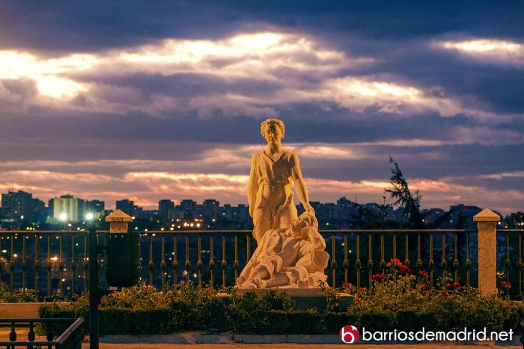 el mejor lugar para ver anochecer Parque Dalieda de San Francisco El Grande