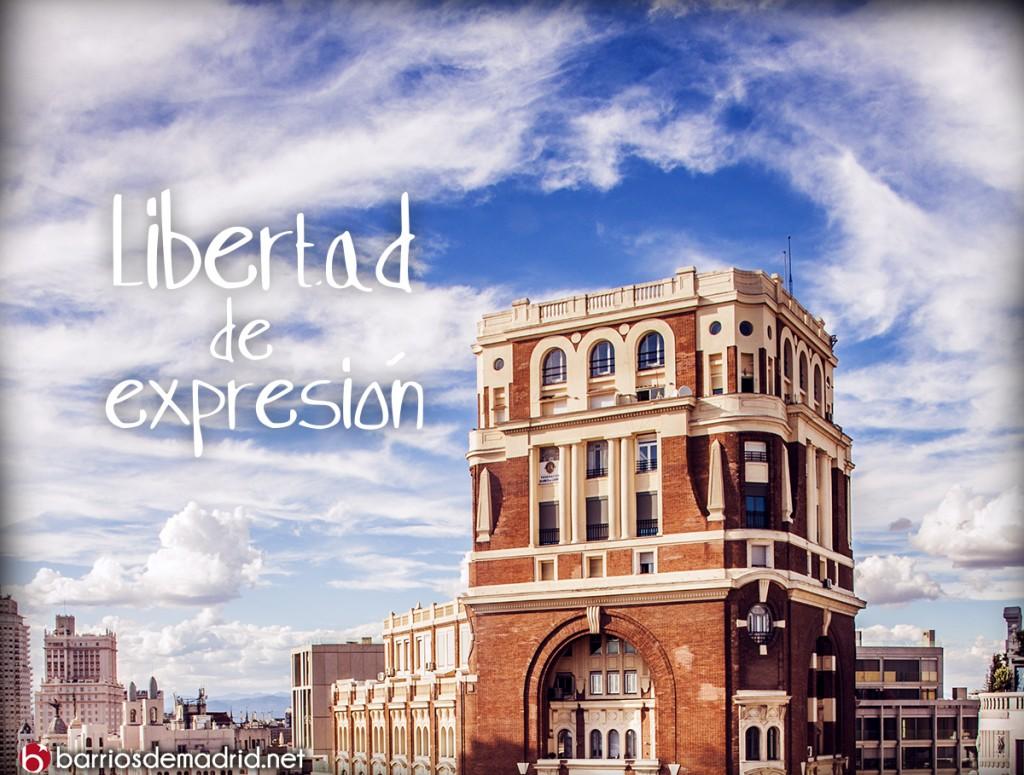 palacio de la prensa madrid libertad de expresion Charlie Hebdo