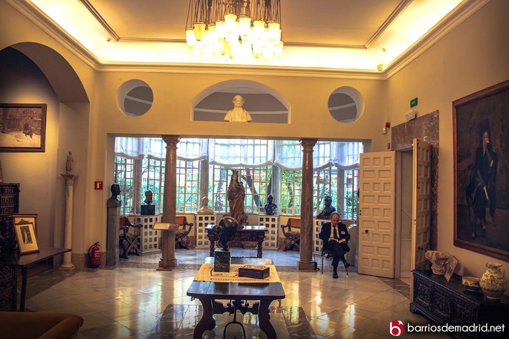 interior museo sorolla casa