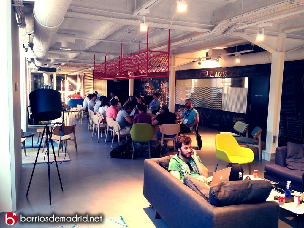 google campus madrid instalaciones
