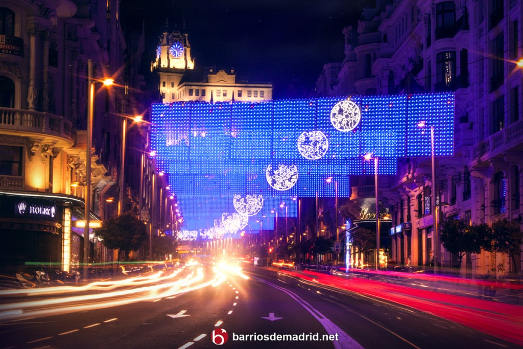 gran via madrid luces navidad 2015 2016