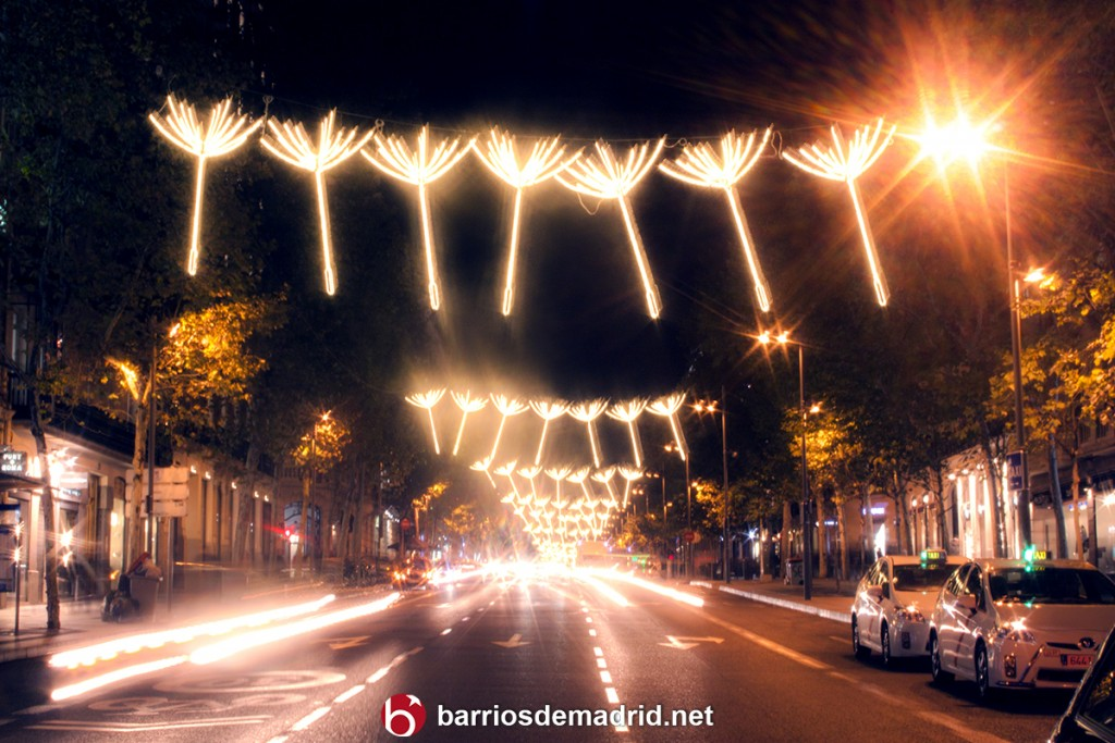 navidad 2015 calle serrano madrid luces