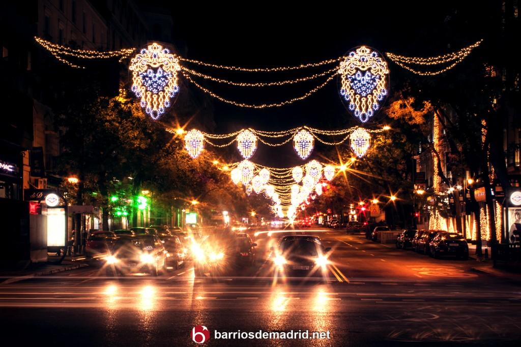 navidad madrid 2015 2016 calle goya luces