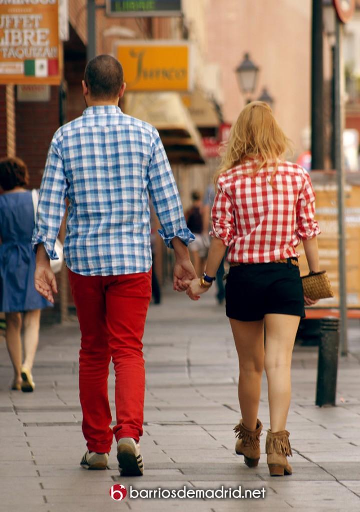 parejas amor madrid centro