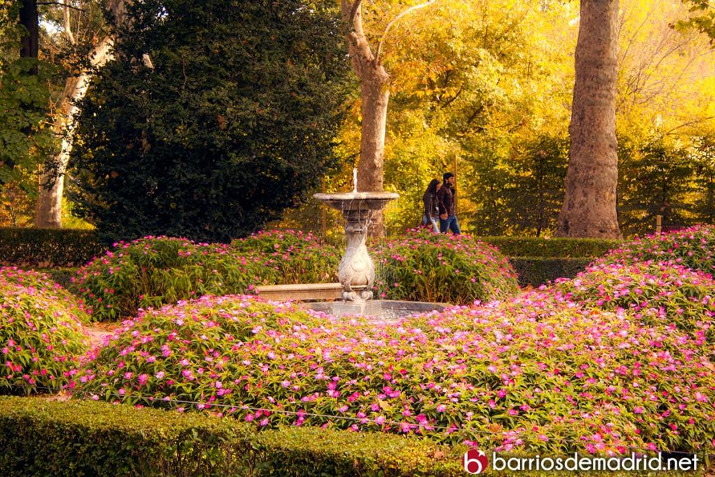 plan romantico madrid parque capricho