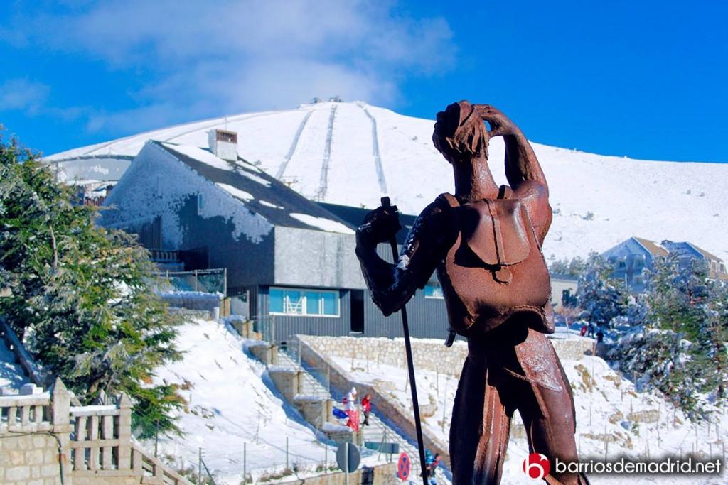 sierra guadarrama escultura