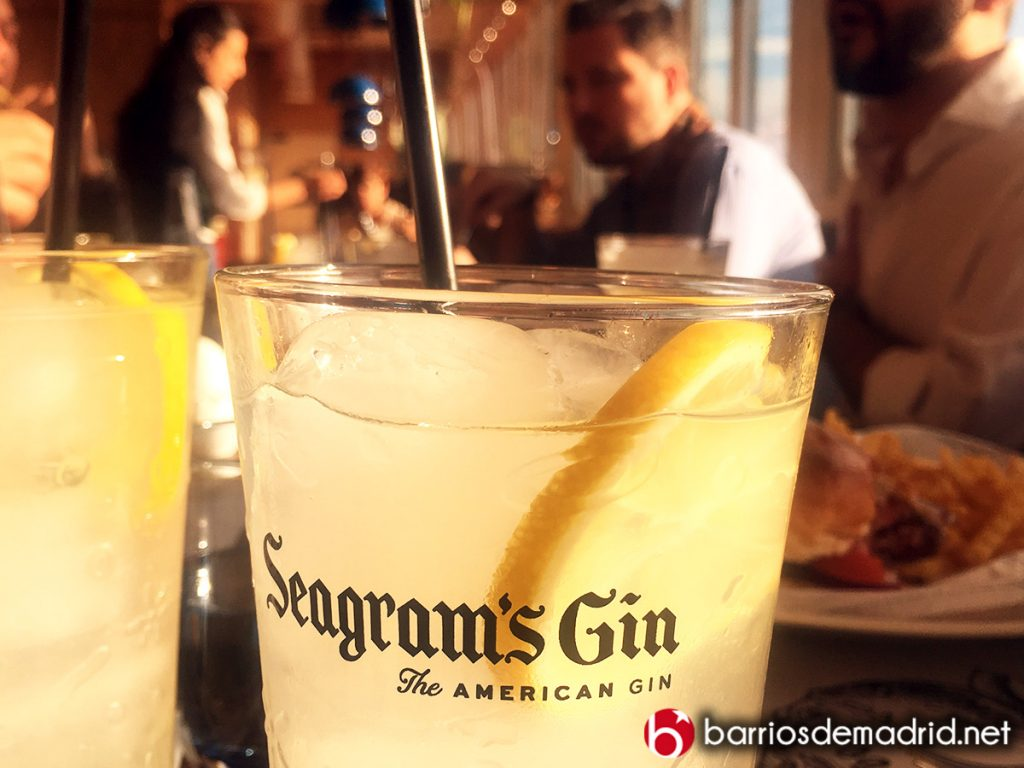 cotel en madrid gin tonic seegrams